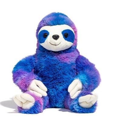 "FAO Schwarz Tie-Dye Endangered Sloth - 10"" Toy Plush"