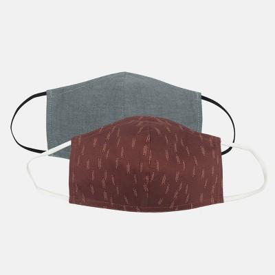 2pk Men's Fabric Face Masks - Goodfellow & Co™