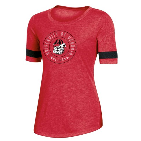 NCAA Georgia Bulldogs Women's Short Sleeve Crew Neck T-Shirt - image 1 of 2