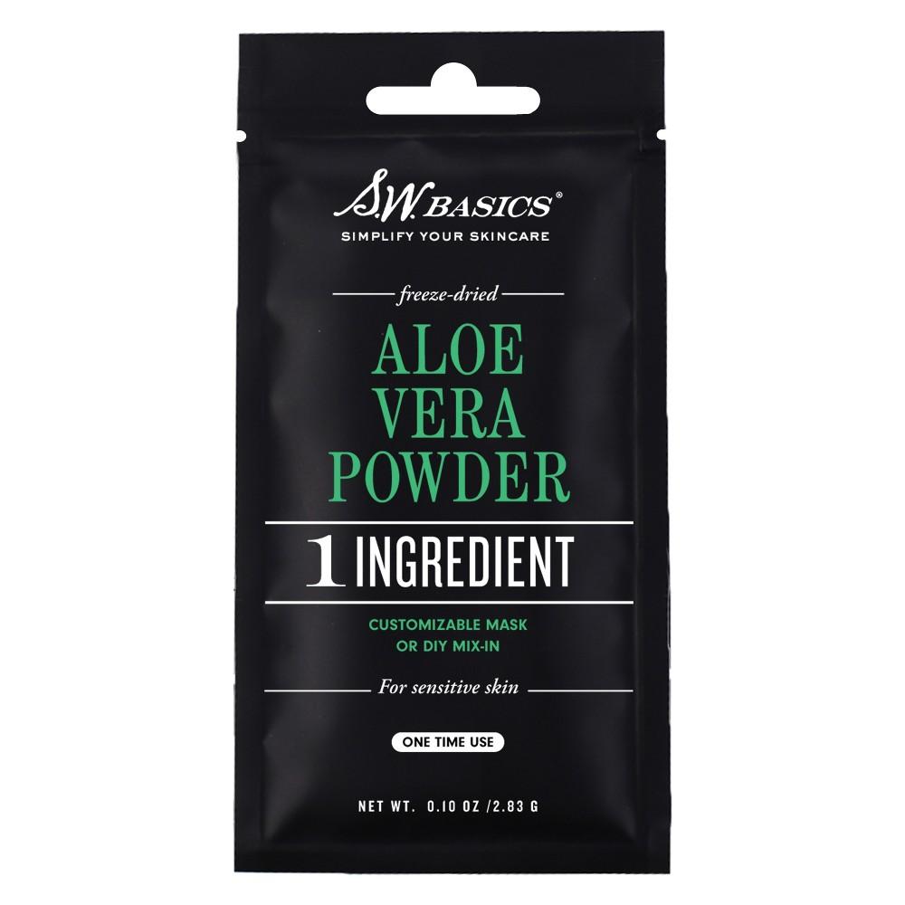 S.W. Basics Aloe Vera Powder Single-Use Pouch - 0.10oz