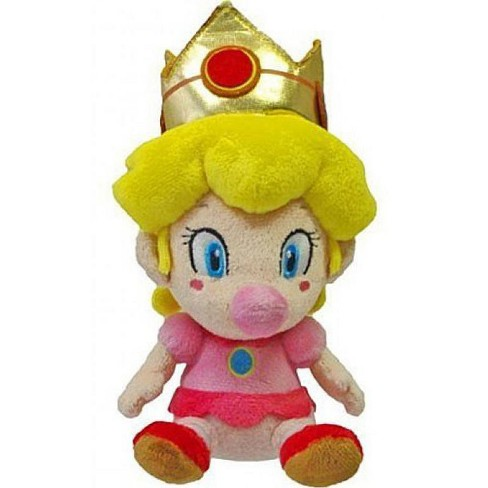 Super Mario Bros Princess Peach 5 Inch Plush Baby Target
