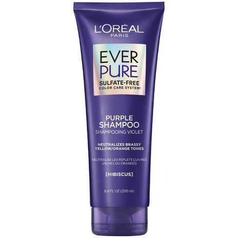 L'Oreal Paris EverPure Sulfate Free Purple Shampoo for Colored Hair - image 1 of 4