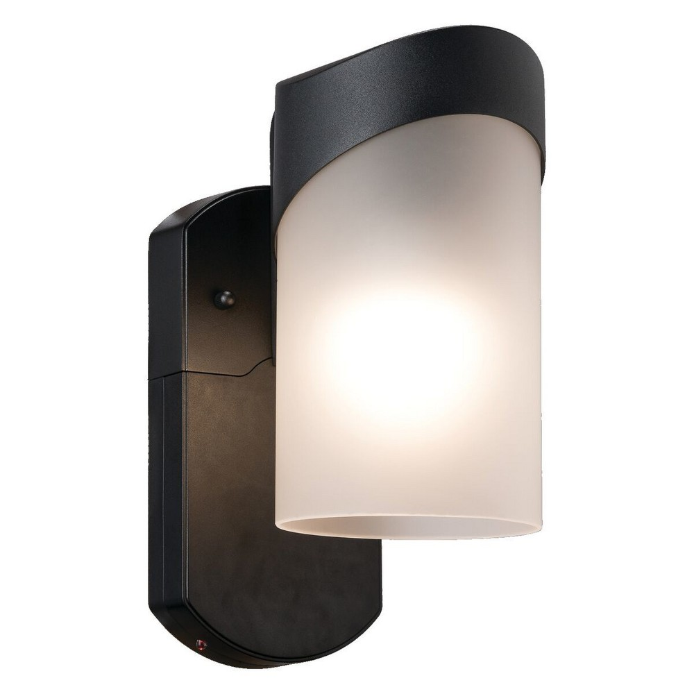 Image of Contemporary Companion Smart Security Outdoor Wall Light Black - Maximus