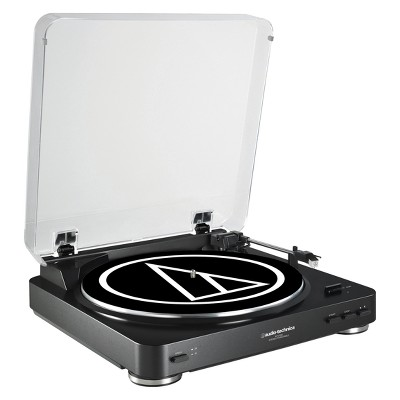 Audio-Technica Fully Automatic Belt-Drive Stereo Turntable - Black (AT-LP60BK)
