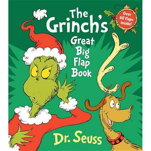 The Grinch's Great Big Flap Book - (Board_book) - image 1 of 1