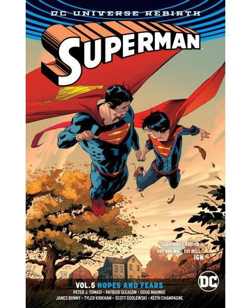 Superman 5 Hopes and Fears -  (Paperback) - image 1 of 1
