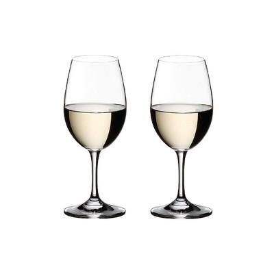 Riedel 6408/05 Ouverture Dishwasher Safe Crystal Stemmed White Wine Glasses Set, 9.88 Ounce (8 Pack)