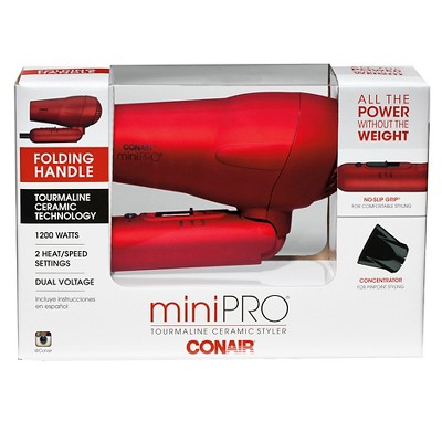 Conair Mini Pro Tourmaline Ceramic Style Dryer
