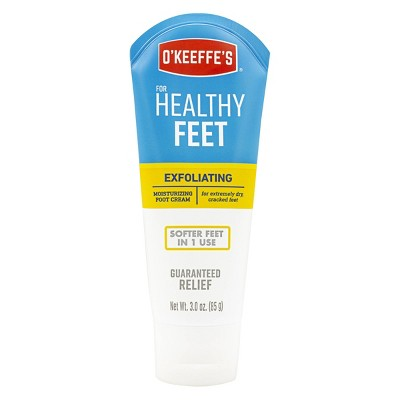 Body Lotions: O'Keeffe's Healthy Feet Exfoliating