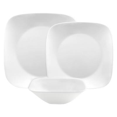 Corelle Square Dinnerware Collection - White