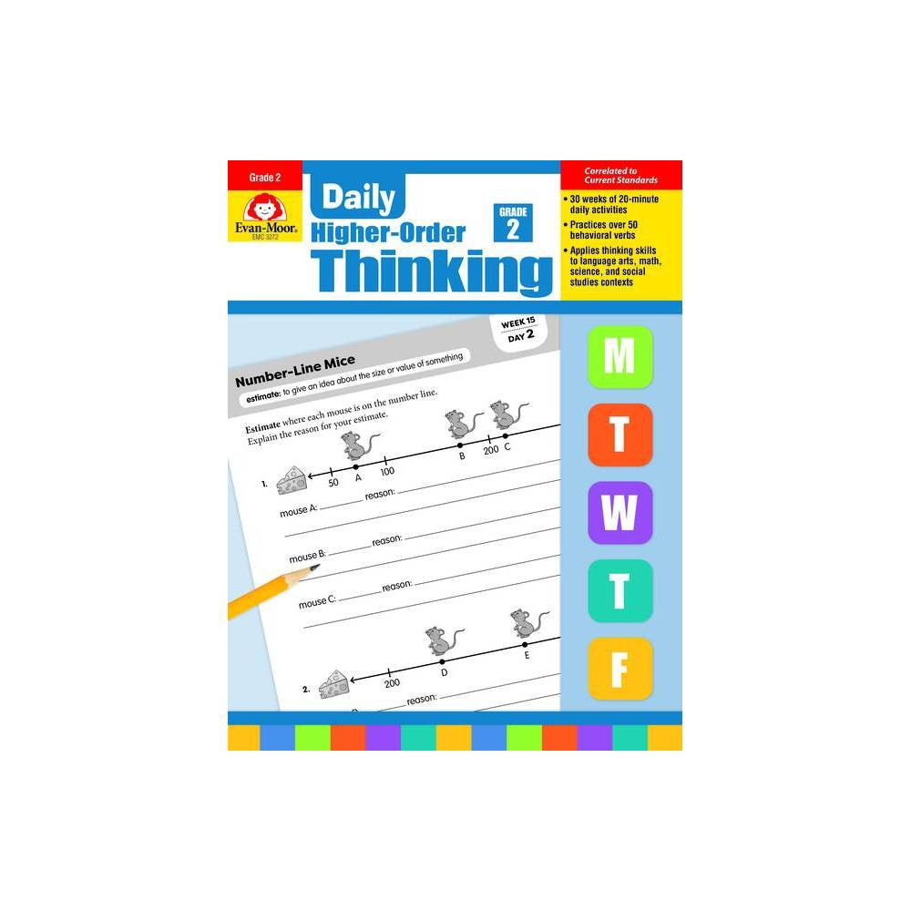 Daily Higher Order Thinking Grade 2 Paperback