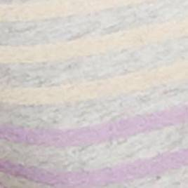 Purple & Heather Gray Stripe