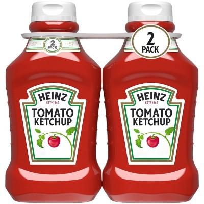 Heinz Tomato Ketchup - 50.5oz/2pk