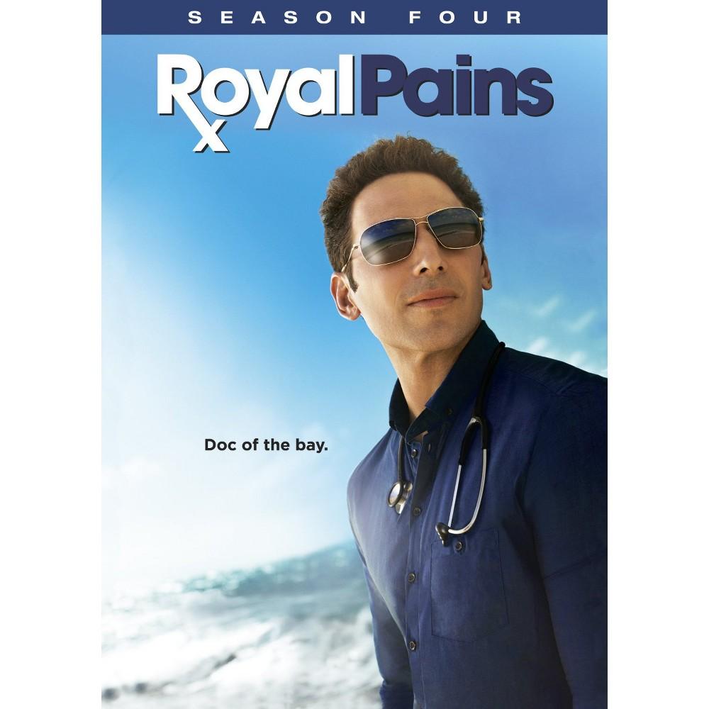 Royal Pains: Season Four (4 Discs) (dvd_video)
