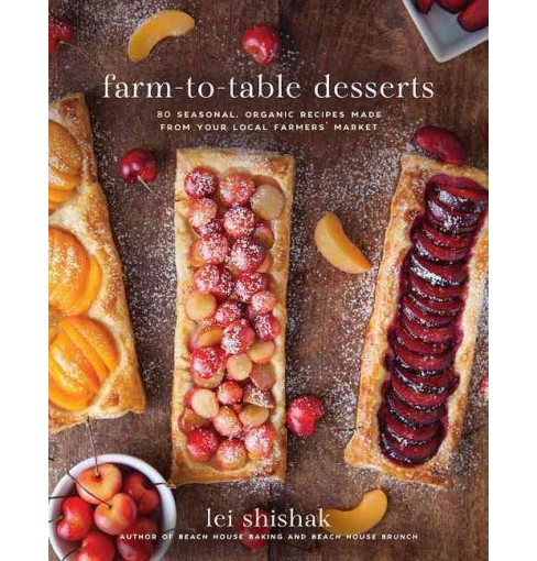 Farm-to-Table Desserts : 80 Seasonal, Organic Recipes Made from Your Local Farmers' Market (Hardcover) - image 1 of 1
