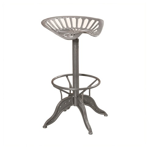 Stupendous Everly 28 Adjustable Barstool Gray Christopher Knight Home Theyellowbook Wood Chair Design Ideas Theyellowbookinfo