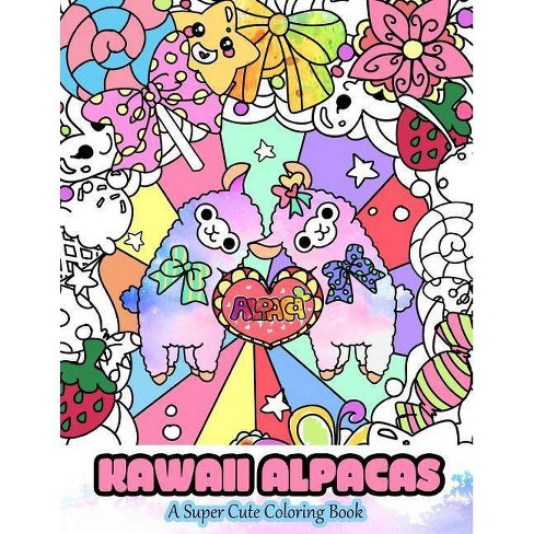 700+ Coloring Book Kawaii Picture HD
