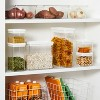 """8""""W X 4""""D X 11.5""""H Plastic Food Storage Container With Snap Lid Clear - Made By Design™ - image 2 of 4"""