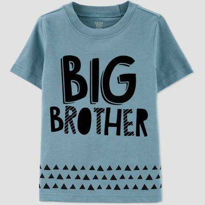 Toddler Boys' Short Sleeve Family Love 'Big Brother' T-Shirt - Just One You® made by carter's Blue 2T