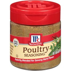 McCormick Seasoning Specialty Herbs & Spices Poultry - 0.65oz