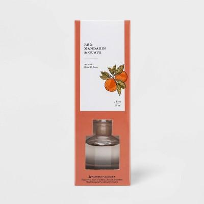 2 fl oz Oil Diffuser Red Mandarin & Guava - Threshold™