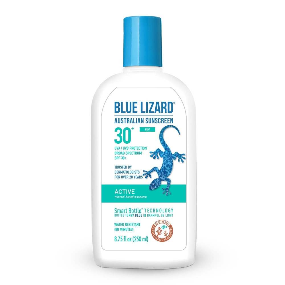 Image of Blue Lizard Active Sunscreen - SPF 30 - 8.75 fl oz