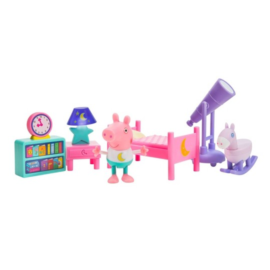Peppa Pig Little Rooms Goodnight Peppa image number null