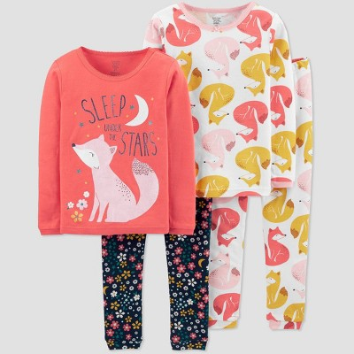 Color : Pink, Size : 100cm Child Cotton Winter Pajamas Cotton Thicken Girl Comfortable Leisure Two-Piece Suit Convenient Hooded Stitching Color Home Clothing Pajamas ZZHF shuiyi Pajamas