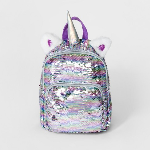 Girls Sequin Unicorn Mini Backpack Cat Jack Target