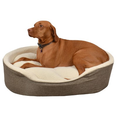 Foam Wall Cuddler Pet Bed - Large - River Birch - Boots & Barkley™