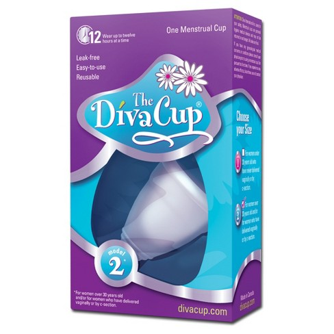 The Diva Cup® Menstrual Cup - 1ct (Model 2) - image 1 of 2