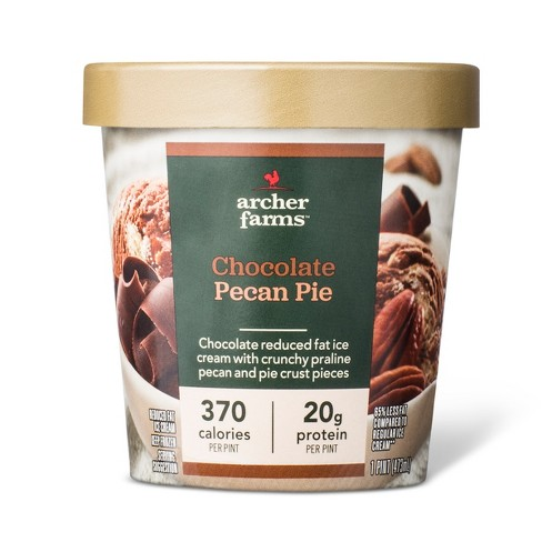 Chocolate Pecan Pie Reduced Fat ice cream - 16oz - Archer Farms™ - image 1 of 1