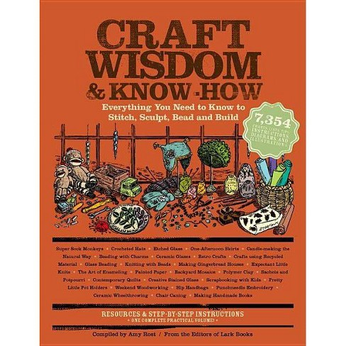 Craft Wisdom & Know-How - by  The Editors of Lark Books (Paperback) - image 1 of 1