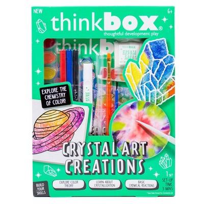 Thinkbox 12pc Crystal Art Creations Craft Activity Kit