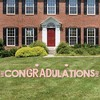 Big Dot of Happiness Rose Gold Grad - Yard Sign Outdoor Lawn Decorations - 2021 Graduation Party Yard Signs - ConGRADulations - image 3 of 4