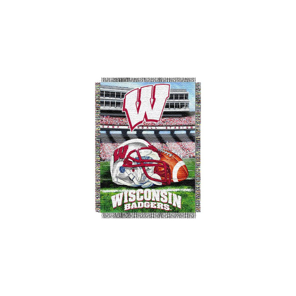 Wisconsin Badgers Home Field Advantage College Throw