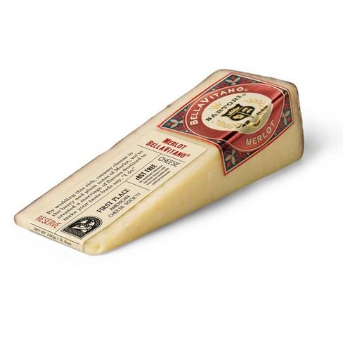 Sartori Bellavitano Merlot Cheese Wedge - 5.3oz - image 1 of 2