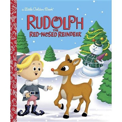 Rudolph the Red-Nosed Reindeer (Rudolph the Red-Nosed Reindeer) - (Little Golden Book) by  Rick Bunsen (Hardcover)