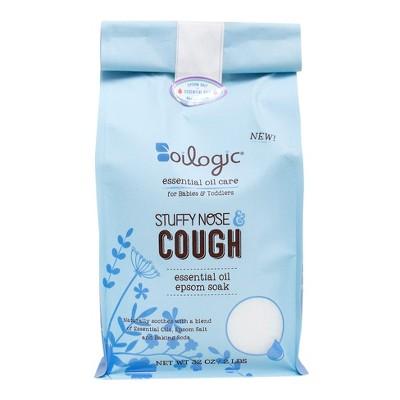 Oilogic Stuffy Nose & Cough Epsom Soak - 32oz