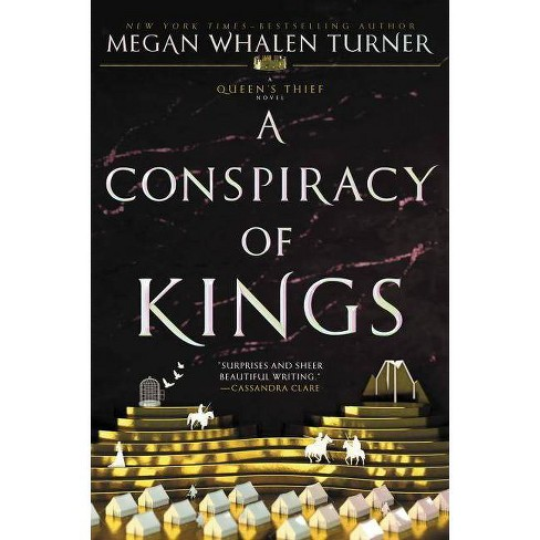 A Conspiracy of Kings - (Queen's Thief) by  Megan Whalen Turner (Paperback) - image 1 of 1