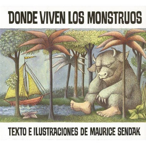 Donde Viven Los Monstruos/ Where the Wil (Paperback) by Maurice Sendak - image 1 of 1