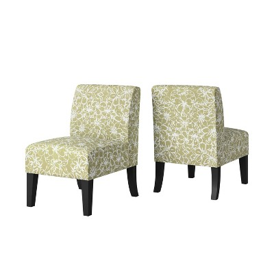Set of 2 Rousse Armless Chairs - Handy Living