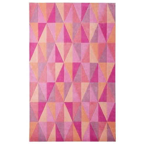 Maylin Kaleidoscope Area Rug - Pink (5'x7') - image 1 of 2