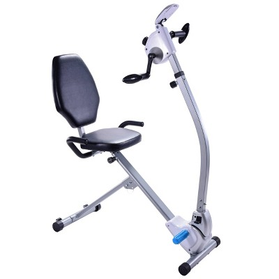 Stamina Seated Upper Body Exercise Bike - Silver
