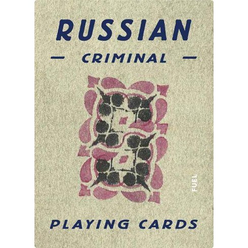 Russian Criminal Playing Cards - (Hardcover) - image 1 of 1