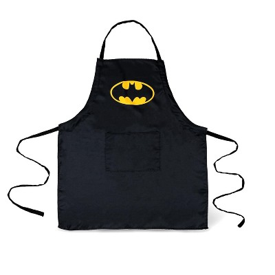 Seven20 DC Comics Batman Logo Adjustable Adult Apron W/ Pockets | One Size