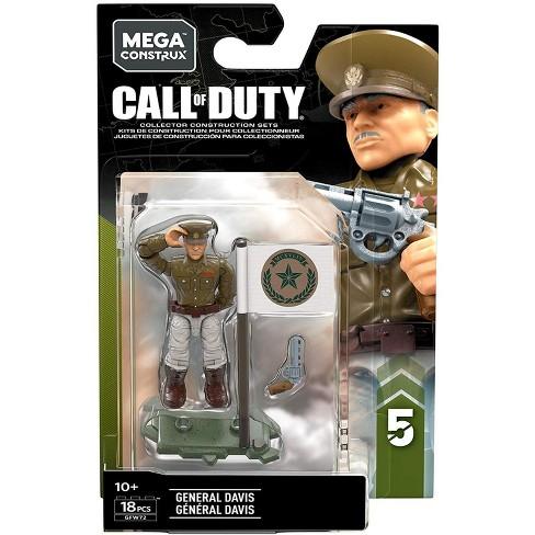 Call Of Duty Mega Construx Specialists Series 5 General Davis Mini Figure Target