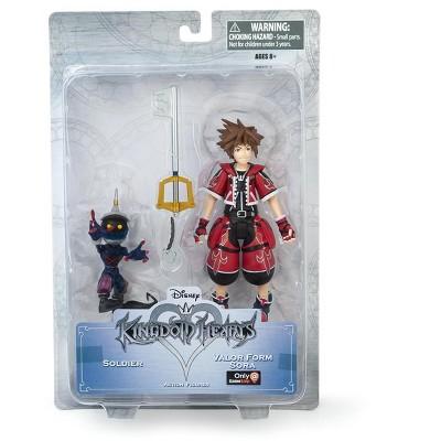 Diamond Comic Distributors, Inc. Kingdom Hearts Valor Form Sora & Soldier Exclusive Action Figure - 2-Pack