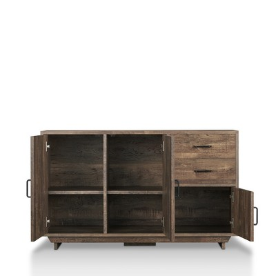 Bon Iohomes Frakes Contemporary Buffet Table Natural Tone   HOMES: Inside + Out  : Target