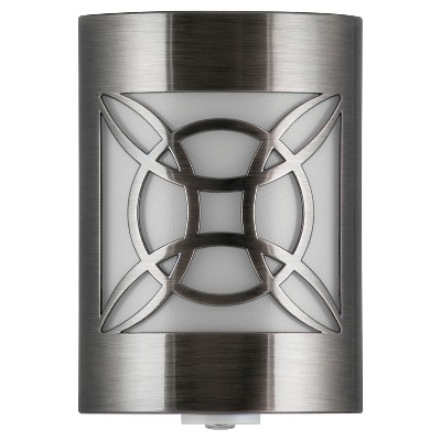 General Electric Brushed Nickel LED CoverLite Night Light